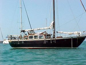 1987 Vagabond Pilot House 39 Cruiser Sailboat For Sale In