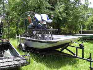 1997 Rivermaster Airboat - 14' Airboat for Sale in Saint