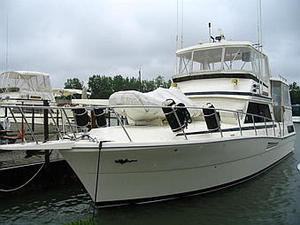 1990 Viking 44 Motor Yacht Stock#: 565 - 44' Sedan Boat for Sale in