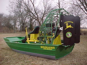 2006 Silver Dollar SD1800 - 18' Airboat for Sale in Hendrix, Oklahoma