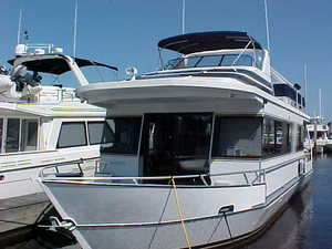 2001 Monticello 52 River Yacht - 52' Houseboat for Sale in