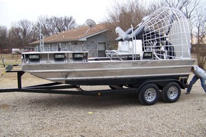 2008 Silver Dollar SD 2000 - 20' Airboat for Sale in Hendrix
